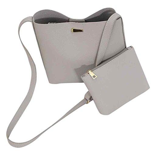 ❤️ Clearance 2PC Women Mini Shoulder Bag Tote Purse Satchel Girls Leather Messenger Handbags Bucket Bag Diagonal Package Handbag Bag Duseedik -