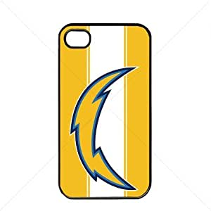 NFL American football San Diego Chargers Fans Case For Iphone 6 Plus (5.5 Inch) Cover PC Soft (Black)
