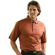 Monterey Club Mens Pima Cotton Jacquard Shirt #1273
