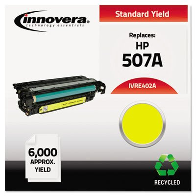 Innovera Compatible Remanufactured CE402A M551 Toner, Yellow, (IVRE402A) ()