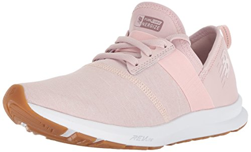 New Balance Women's Nergize V1 FuelCore Sneaker,CONCH SHELL,6.5 B US