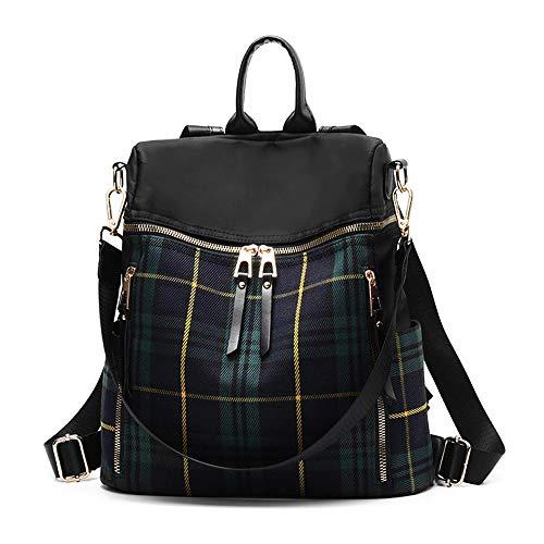 1ef71e24e87 zhongningyifeng Women Backpack Purse Waterproof Nylon Rucksack Lightweight  Fashion Casual Travel Ladies Shoulder Bag Daypack (
