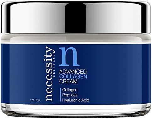Necessity Skincare Advanced Collagen Cream for Face, 2 Fluid Ounce