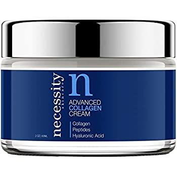 Necessity Skincare Advanced Collagen Cream for Face, 2 Fluid Ounce