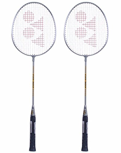 Yonex GR 303 Badminton Racket 2018 Professional Beginner Practice Racquet with Face Cover Steel Shaft – Pack of 2 Review