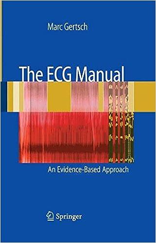 the ecg manual gertsch marc