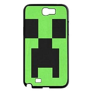 minecraft Pattern Plastic Hard Case For Samsung Galaxy Note 2 Case TPUKO-Q904350