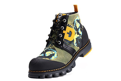 Dr Mens Music Act Boots Act Dr Olive Canvas Man Walking RpxCqBSwqn