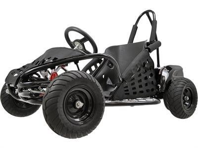 MotoTec MT-GK-01 Black Off Road Go Kart - 48V