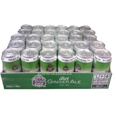 Costco Canada Dry ginger ale diet 350mlX30 cans