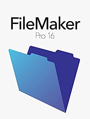 FileMaker Pro 16 Mac/Win Retail Box V16