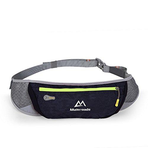Ejecución de los bolsillos de los deportes/Teléfono móvil/Maratón cross país ejecutando Pocket-púrpura Azul oscuro