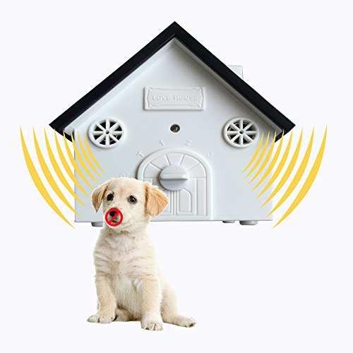 penobon Ultrasonic Outdoor Dog Bark Controller in Anti-Ba...