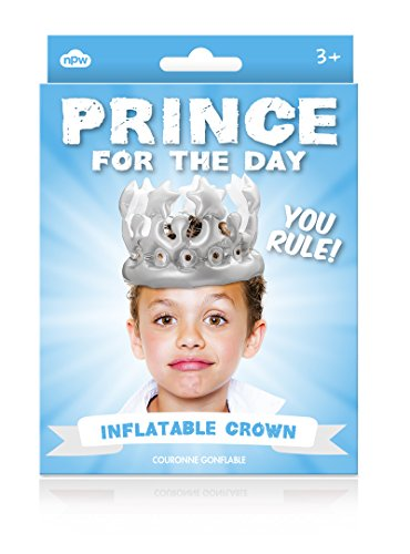 NPW-USA Prince for The Day Inflatable Crown
