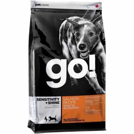(Petcurean Go Sensitivity + Shine Dog Food Salmon (12 lb))
