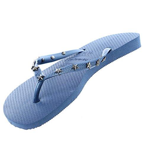Flip Women's Havaianas Hardware Slim Blue Indigo qBtTzx