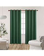 Deconovo Blackout Curtains Living Room Darkening Curtains 2 Panels