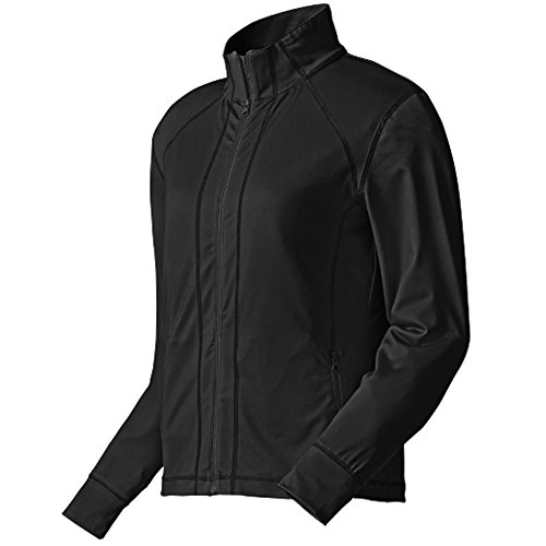 Footjoy 27150 M070 Performance Full-Zip Mid Layer Womens Jacket44; Black - Medium