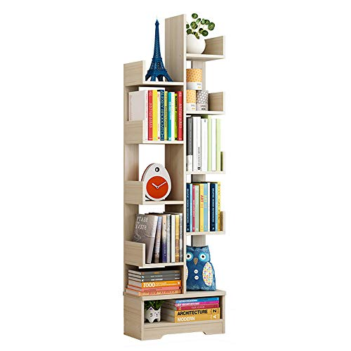 GYZ Bookshelf, Modern Minimalist Bookcase Display Cabinet, Floor-Standing Bookcase, Student Creative Bookshelf, Open, economical and Environmentally Friendly Furniture Bookshelf