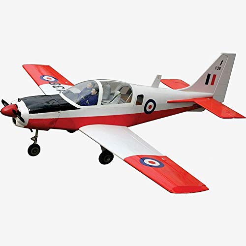 VMAR Bulldog SK-61 Sweden Balsa (ARF) Plane Kit Size.46-.61 - Tested for Durability, Fully Covered by POLYCOTE ECS and Power Module can be Adjustable.