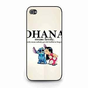 Ohana Means Family Protective Apple iPhone 5C Covers,Lilo & Stitch Disney Cartoon Phone Caja del teléfono celular Funda,Stitch Lilo Classical Caja del teléfono celular Funda