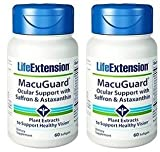 Life Extension Macuguard Ocular Support Plus Astaxanthin 60 softgels 60 x 2 Discount