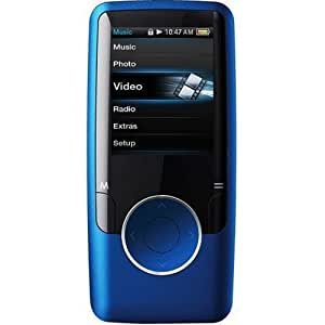 Coby MP620-8GBLU 8GB 1.8-Inch Video MP3 Player with FM Radio (Blue) (Discontinued by Manufacturer)