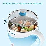 Electric Hot Pot 1.5L, Rapid Noodles Cooker, Mini
