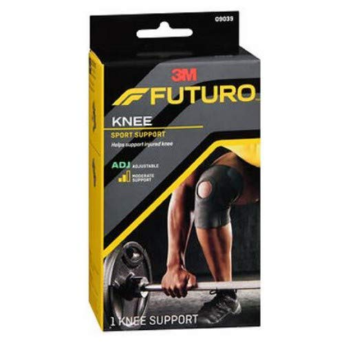 Sport Knee Futuro Support - FUTURO Sport Knee Support Adjustable 1 ea (Pack of 2)