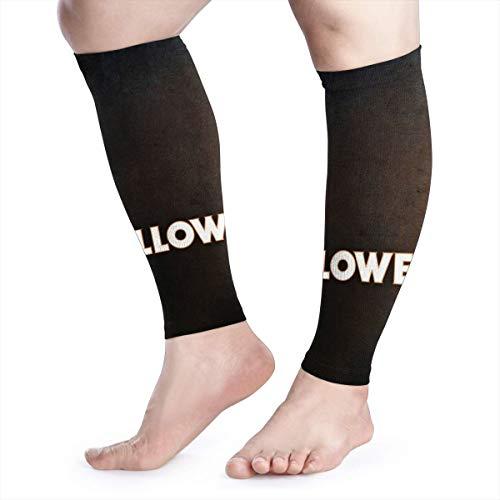 OLFSGD Halloween Michael Sports Calf Compression Sleeves Leg Support Socks for Men Women (1 Pair)
