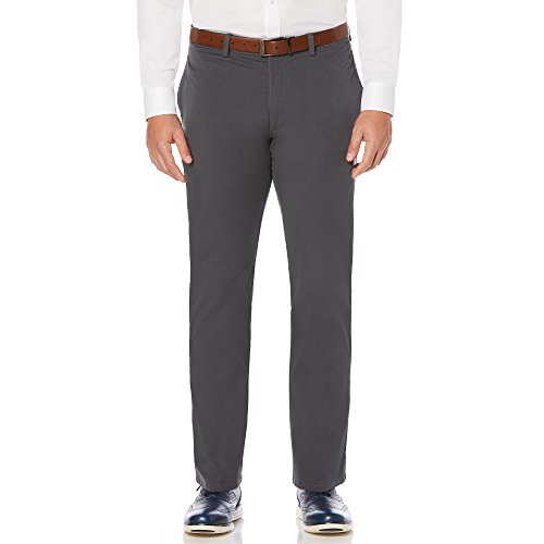 ont Complete Comfort Khaki Chino Gray Pinstripe36W x 29 L (Savane Pants Khaki)