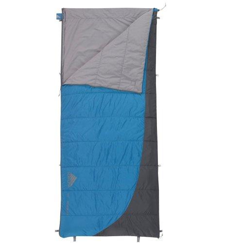 Kelty Tumbler 50/70-Degree Sleeping Bag, Blue, 6-Feet 6-Inch, Outdoor Stuffs