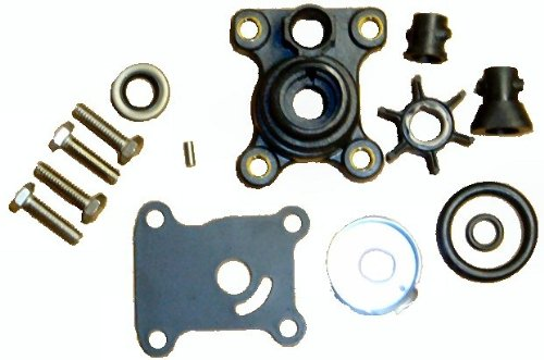 Tungsten Marine Water Pump Kit with Housing for Some Johnson Evinrude 9.9 to 15 HP 1974-Up Replaces 394711 primary