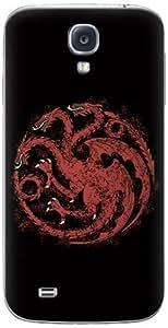 Zing Revolution Game of Thrones Premium Vinyl Adhesive Skin for Samsung Galaxy S4, Targaryen S2 Black (MS-GOT350456)