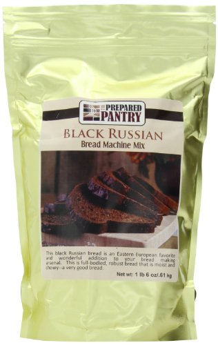 (The Prepared Pantry Bread Machine Mix, Black Russian Gourmet Pumpernickel, 22 Ounce)