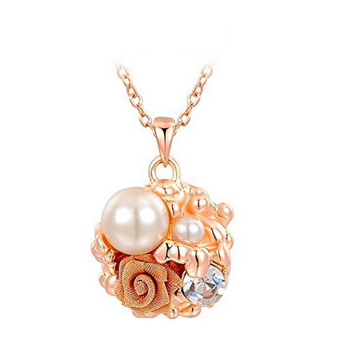 KaiSasi Ms Rose Gold Pearl Flower - Ms Pearl Outlet