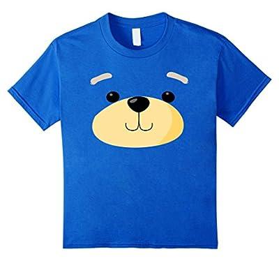 Cute Bear Face Costume Shirt - Funny Halloween Teddy Gift