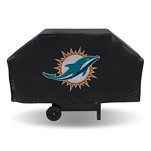 NFL Miami Dolphins Vinyl Grill Cover (Miami Dolphins Grill Cover)