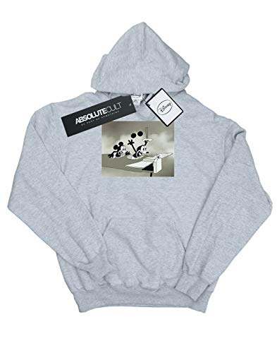 Crazy Pilot Capucha Mujer Mouse Gris Deporte Disney Mickey qRPxwRnt