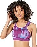 Brooks Women's Maia Back-Adjustable Medium-Impact Sports Bra (C-E) | Moving Comfort Violet Pulse/Violet 32C