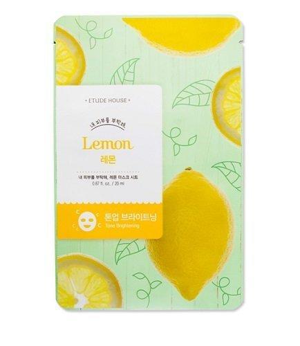 Etude House Take Care of My Skin MASK SHEET [Lemon], 5Sheets