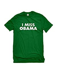 Indica Plateau I Miss Obama Mens T-Shirt