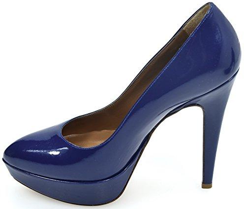 Hæler Decolte Høye Sko Kode Pollini Cobalto Sa1005cc0xtb0756 Koboltblå Blu Kvinne n7x6pqEwg
