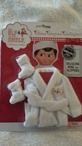 The Elf on the Shelf Claus Couture Relaxing Robe and (Elf On The Shelf Outfits)
