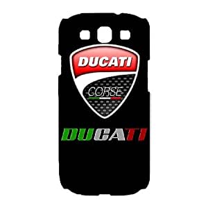 Samsung Galaxy S3 Phone Case White Ducati QY7005671