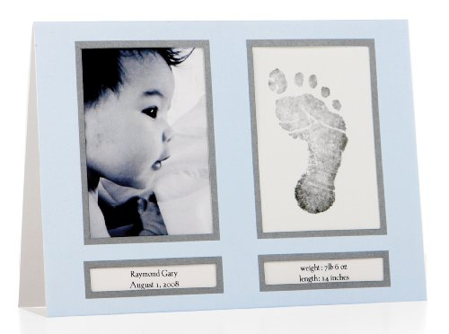 Amazon.com : Pearhead Birth Announcements, Blue (Discontinued By  Manufacturer) : Baby Keepsake Frames : Baby