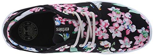 Etnies Damen Scout Ws Skateboardschuhe Black (Black/Floral 993)