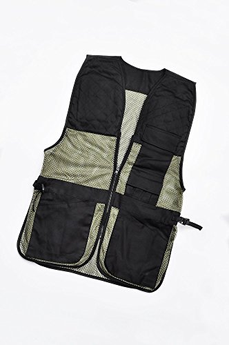 Xhunter Clay Target Pigeon Shooting Vest with Recoil Pad and Shell Pockets