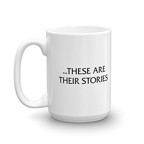 Law & Order These Are Their Stories 15 oz Mug - Official Coffee Mug