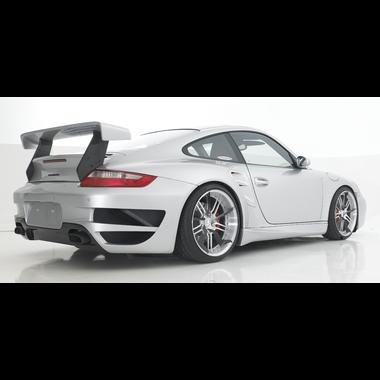 Amazon.com: Porsche GT Street Rear Bumper for 997 Carrera & Turbo: Automotive